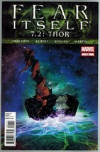 Fear Itself Thor 7.2 Marvel Comics 2012 Fraction Kubert - $8.00
