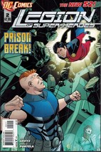 Legion of Super-Heroes 2 DC Comics 2011 New 52 - $2.00