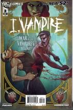 I Vampire 3 DC Comics 2012 Andrea Sorrentino New 52 - $3.00