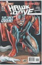 Hawk & Dove 5 DC Comics 2012 Gates Liefeld New 52 - $2.00