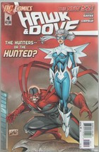 Hawk & Dove 4 DC Comics 2012 Gates Liefeld New 52 - $2.00