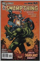 Swamp Thing 3 DC Comics 2012 Snyder Paquette New 52 - $3.00
