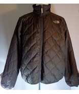 The North Face Mens Brown Quilted Lightweight Jacket size L Large - $99.95