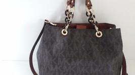 Michael Kors Cynthia Handbag Size Medium Satche... - $113.85