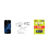 "Straight Talk Samsung Galaxy S7 ""Black"" 32GB ru... - $509.99"