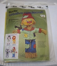 Older Bucilla Needlecraft Kit MINT Never Opened Mr Scarecrow Wizard of Oz  2375 - $34.16