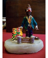 Ron Lee signed Dumpster Selling Ties Clown Sculpture - $40.00