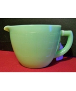 Jadite Jeannette 2-cup Measuring Cup with Spout and Handle - $48.00