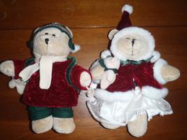 Starbucks Bearista Plush Bear Christmas Girl & Boy 42nd 43nd Edition 2005 - $46.53