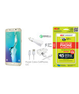 Samsung Galaxy S6 EDGE 32GB Gold Platinum - Ver... - $449.99