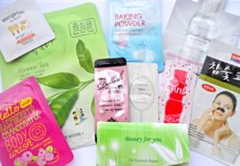 Korean Samples + 7-Day Face Mask Sheets - $100.00