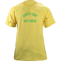 Vintage Green Bay Wisconsin Gameday Football Team Colors T-Shirt - $19.99