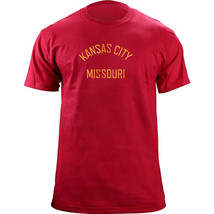 Vintage Kansas City Missouri Football Gameday Team Colors T-Shirt - $19.99