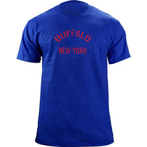 Vintage Buffalo New York Gameday Football Team Colors T-Shirt - $19.99