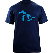 Great Lakes Mid-West Native Clean Water Pullover Hoodie Sweatshirt - $29.99