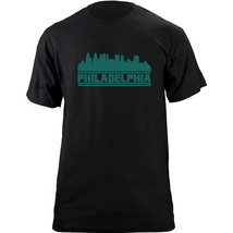 Original Philadelphia Pennsylvania Skyline Football Team Colors T-Shirt - $19.99