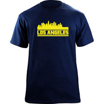 Original LA Los Angeles California Skyline Football Team Colors T-Shirt - $19.99