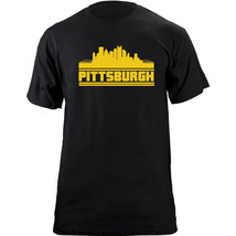 Original Pittsburgh Pennsylvania Skyline Team Colors T-Shirt - $19.99