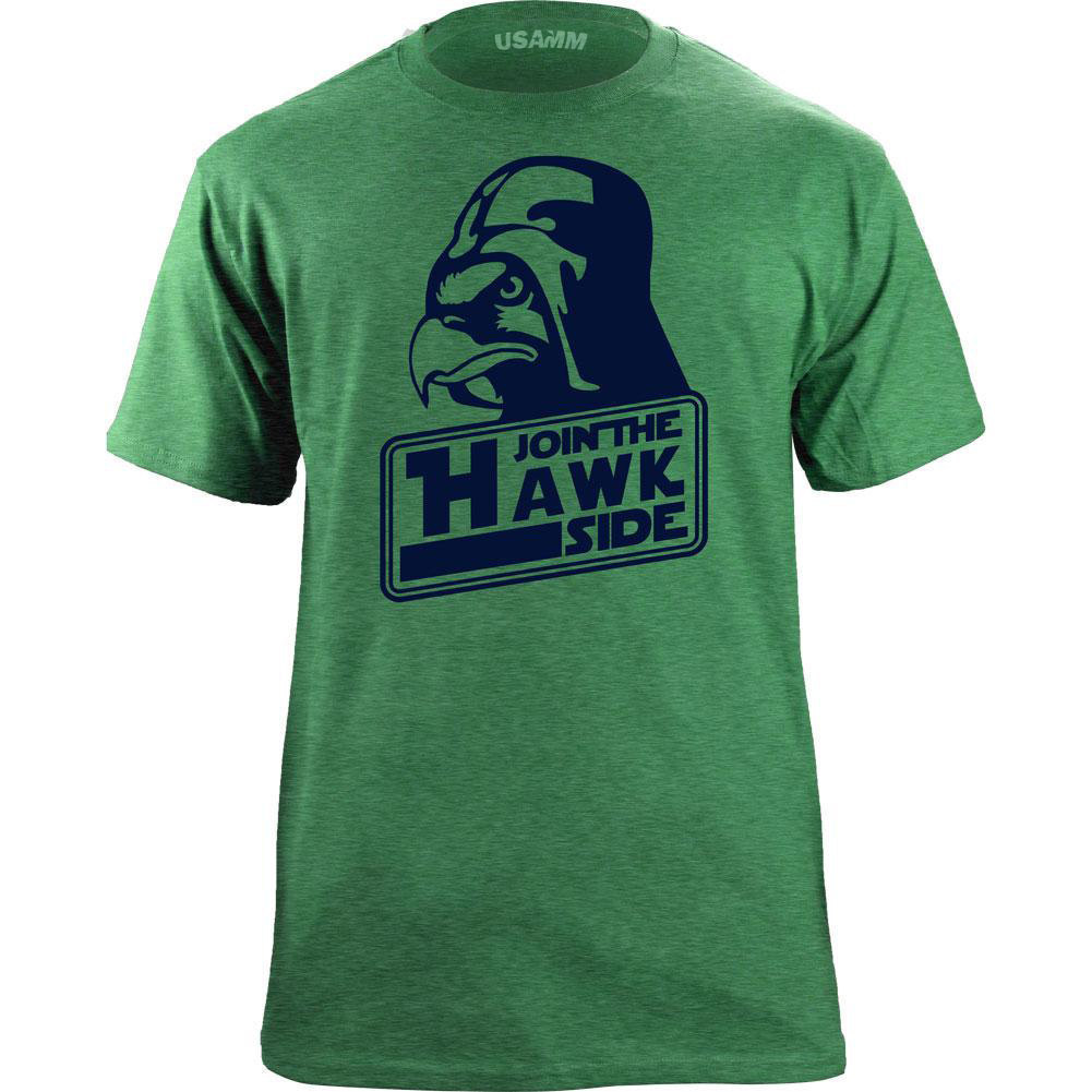 Original Seattle Join the Hawk Side Classic T-Shirt image 3