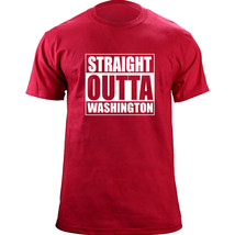 Original Funny Straight Outta Washington DC District of Columbia Basebal... - $19.99