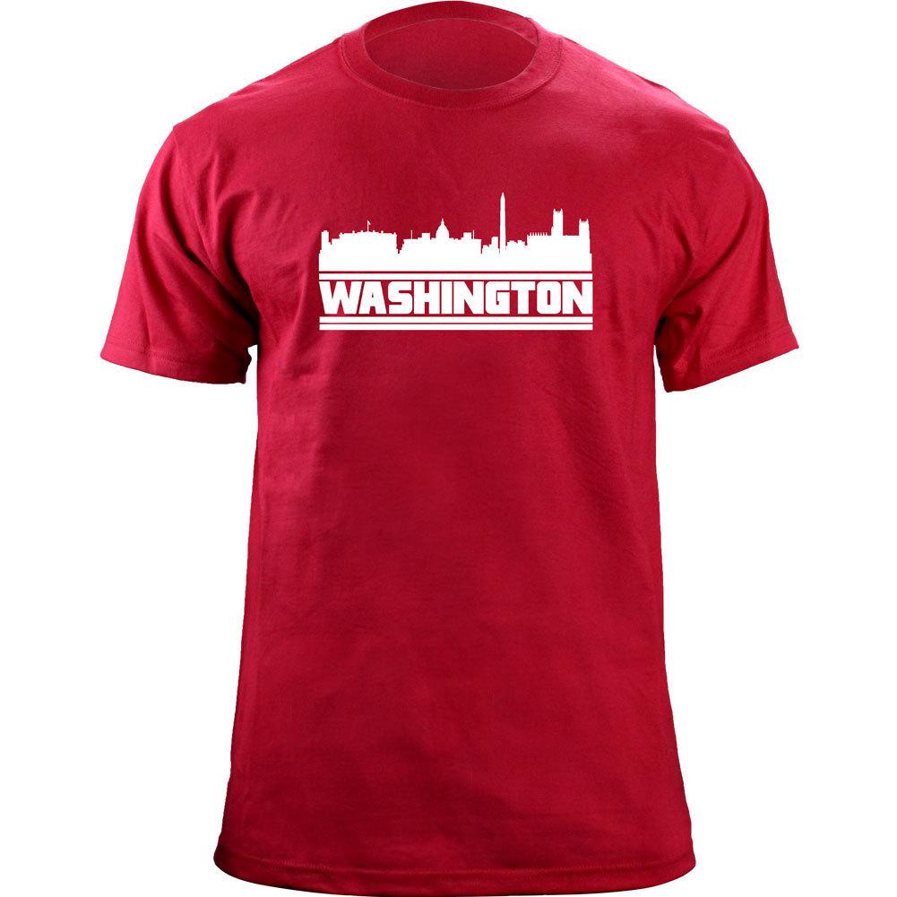 Original Washington DC District of Columbia Skyline Skyline Baseball Team Colors