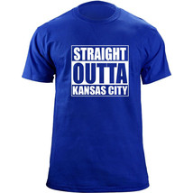 Original Funny Straight Outta Kansas City Baseball Team Colors T-Shirt - $19.99