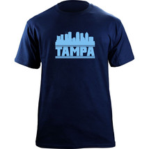 Original Tampa Bay Florida Skyline Skyline Baseball Team Colors T-Shirt - $19.99