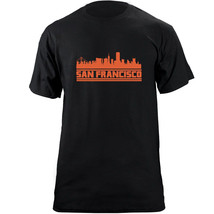 Original San Francisco California Skyline Skyline Baseball Team Colors T... - $19.99