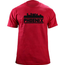 Original Phoenix Arizona Skyline Skyline Baseball Team Colors T-Shirt - $19.99