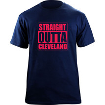 Original Funny Straight Outta Cleveland Ohio Baseball Team Colors T-Shirt - $19.99