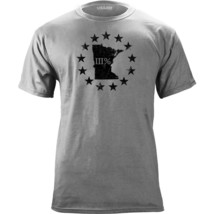 Vintage Distressed Minnesota 3 Percenter III State Molon Labe T-Shirt - $19.99