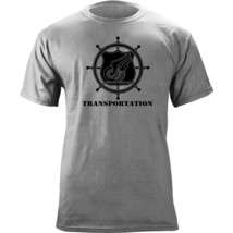 Army Transportation Branch Insignia Ship's Wheel Veteran Graphic T-Shirt - $19.99