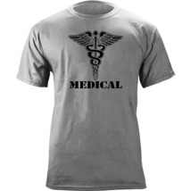 Army Medical Branch Insignia Caduceus Veteran T-Shirt - $19.99