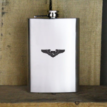 Battle Manager Badge Air Force Veteran 8oz. Flask - $19.99
