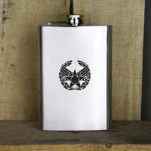 Commanders Badge Air Force Veteran 8oz. Flask - $19.99