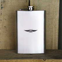 Cyber Support Badge Air Force Veteran 8oz. Flask - $19.99