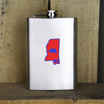 Original I Bear Mississippi Variant Classic University 8oz. Flask - $19.99