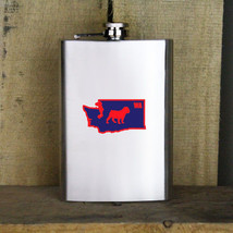 Original I Bulldog Washington Variant Classic University 8oz. Flask - $19.99