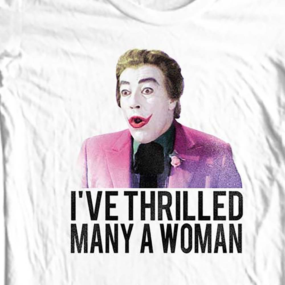 The joker caesar romero white t shirt
