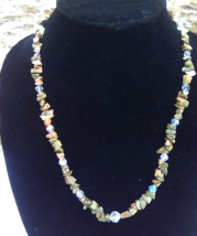 Unakite Necklace - $30.00