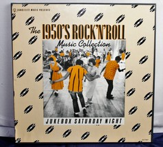 Jukebox Saturday Night The 1950's Rock 'N' Roll Music Collection VINYL 3... - $8.04