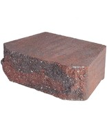 Pavestone Retaining Wall Block Textured Red (144 Pcs. / 46.5 Face ft. / ... - $900.88
