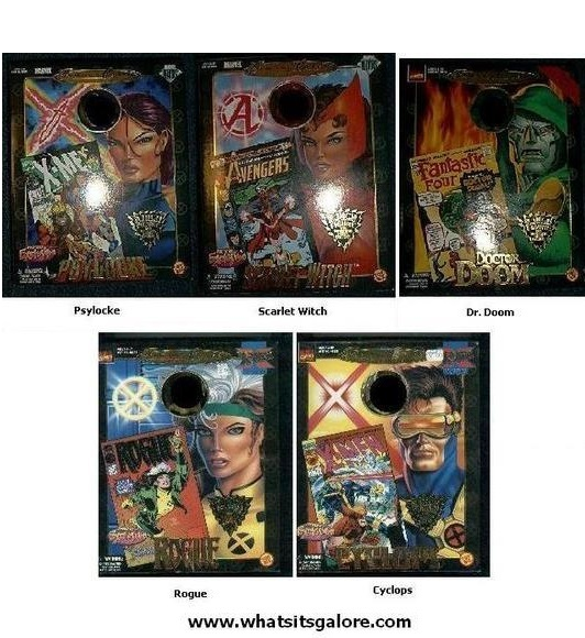 Marvel Famous Covers BOXES FOR ACTION FIGURES X-Men