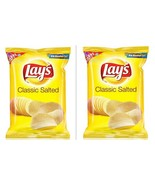Lay's Potato Chips - Classic Salted Big Pack, 95 grams (Pack of 2) , India - $9.89