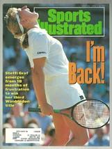 1991 Sports Illustrated Wimbledon Steffi Graf Delmar Race Course Fergie ... - $2.50