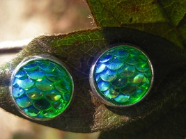 Haunted Heart of a Dragon Spell Cast Earrings Moonstar7spirits Exclusive - $20.00