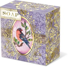 Punch Studio Bird Cameo Verbena Scent Paper Wrapped Boxed Soap - $13.95