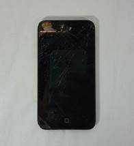 iPod Touch 4th Generation  Cracked Screen 8gb Works - $19.80