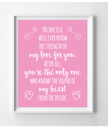 The Sound of My Heart from the Inside Nursery 8x10 Wall Art Decor PRINT ... - $7.50