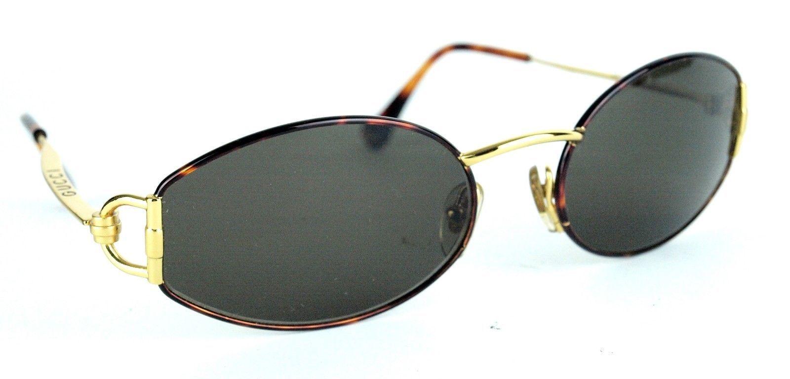 54e1773675 100% Auth Gucci Designer Brown Goggle and 29 similar items